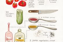 Food/ Recipes illustration