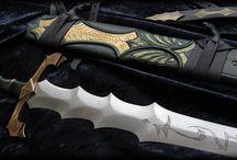 Custom Scabbards by FableBlades / Handmade Scabbards by Brendan Olszowy Fable Blades Custom Scabbardmaker Australia Leatherwork Woodcarving