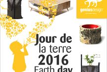 Jour de la terre 2016 Earth day / @geniusdesignint  always cares for our beautiful small planet. That's why we take advantage of the 2016 Earth Day to present design products that are sustainable options thanks to the new materials they use or to their « green » features. Come to see all the zero waste options. https://www.geniusdesign.club GeniusDesign International #earthday #zerowaste #ecology #environment