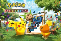 Pokemon Picross / Official artwork from Pokemon Picross on the Nintendo 3DS eShop. More info on this title at http://www.pokemondungeon.com/pokemon-picross