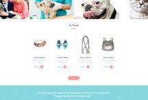 Pet shop templates