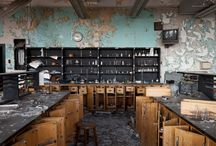 Abandoned and ghost places