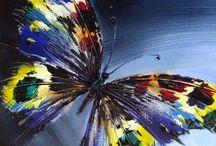Fluturi pictura