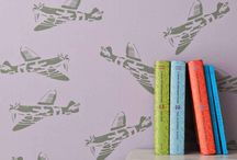 boy bedrooms / by Catherine Golledge