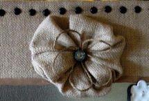 Burlap Crafts / by Dina Duncan