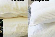 Almohadas lavar