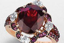 "Garnet Gemstones / Most people associate the word ""garnet"" with a red gemstone; however, they are often surprised to learn that garnet occurs in many other colors and has many other uses. / by Michele Wood"