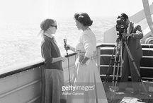 femme journaliste 1956