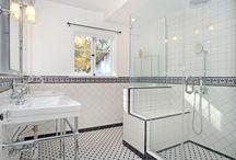 Bathroom - B&W