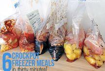 Crockpot/freezer meals! / by Kara Cuevas