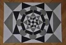 simetri, ritim, zıtlık