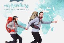 Weltreise // Planung. Inspiration | OurTravelness