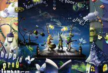 Hoppin' Frog Jamboree / http://shop.scrapbookgraphics.com/Hoppin-Frog-Jamboree-SKU25553.html