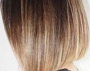 Μαλλιά καρέ ομπρε