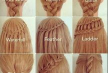 Braiding fun / Look at these cool braids to do on your hair