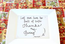 Fall-giving / All things Autumn and Thanksgiving