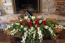 Holiday Decor / Arrangements and decor to get you in the Holiday Spirit!
