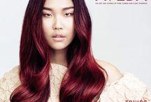 Love Your Hair Color | Glam And Tonics AVEDA Salon / Love Your Hair Color. New Full Spectrum Deep shades. 93% naturally derived. #GlamAndTonics #AvedaColor #AVEDA #RaspberryJasper #SteelBlue #BlueSapphire #UmberSun #FullSpectrumDeep #LoveYourHairColor