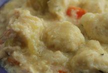 Meat and dumplings