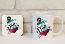 Fathers Day Gifts / A brilliant collection of Fathers Day gifts all designed and made in house. Exclusive ranges.