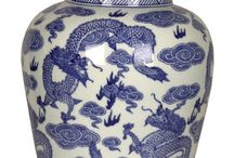 Chinese Ceramics / Traditionally Hand Painted Jars and Vases