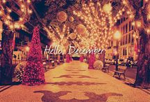 THE SEASON OF GIVING / WELCOME DECEMBER