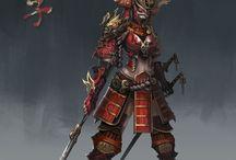 Referencias Samurais