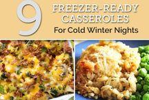 Freezer Foods!