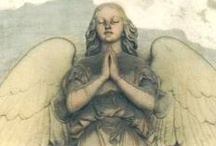 Entertaining Angels / Do not forget to entertain strangers, for by so doing some people have entertained angels without knowing it.    Hebrews 13:2 / by Donna Grant