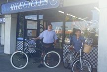 Satisfied customers! / Nothing better than a new bike.