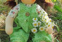 Mandula Dolls 35cm waldorf style dolls