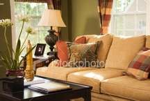 cozy living rooms / by Leslie Young