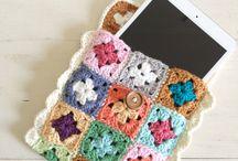colchas crochet