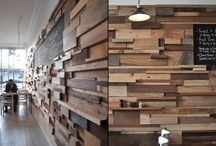 wood cladding and pattern