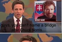 Chuck Norris. / by Erica Bennett