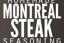 homemade seasonings / by Sharon Macfarlane