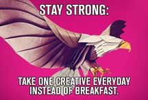 MeMe pictures / Do you agree, that clients are eagles, creative workers are peacocks and planners pigeons? Stay tuned for more pictures!