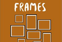 Frames / Arise your walls with our new frames.