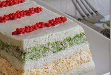 pastel pan molde y pasteles frios