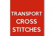 Transport cross stitches