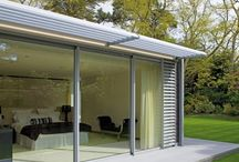 Brise-Soleil & Structural Auminium Solar Shading / Repels the heat through fixed or portable aluminium systems