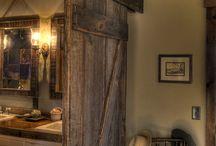 πόρτα συρόμενη τουαλέτας υπογείου