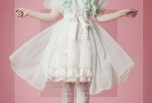 Cult Party Kei, Fairy Kei & Yumekawaii / Pastel and cute Harajuku fashion and their substyles that inspires me. Cult Party Kei / Fairy Kei / Yumekawaii / Uchuu Kei / Spank! / Space / Alien / Holographic /