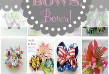 Bows and hair accessories
