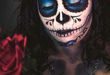Maquillage sugar skull