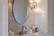 powder bathrooms