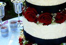 Wedding cake (Black n' white wedding)