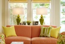 Spring has Sprung / Interior design, decor and furniture inspired by Spring