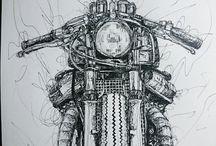 rysunki moto