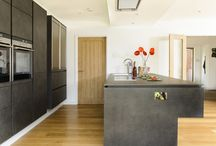Striking Black Kitchens / A selection of luxury black kitchens from ALNO.